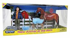 Breyer Classics 1:12th Horse and Pony New Arrival at the Barn Set No 61084