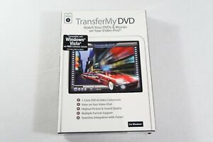 TRANSFER MY DVD by AVANQUEST - WATCH DVD'S & MOVIES ON YOU IPOD - PC SOFTWARE