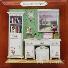 DIY Wooden Dollhouse Miniature Photo Frame Hut M008