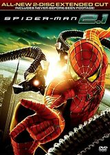 SPIDERMAN 2.1 DVD 2007 2 DISC EXTENDED CUT WIDESCREEN AMAZING