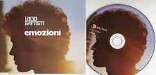 LUCIO BATTISTI CD single EMOZIONI + ANNA stampa ITALIANA 2 tracce
