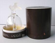 Paris France Bird Cristal Lalique Nightengale Glass Bell