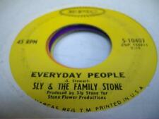 Soul 45 SLY & THE FAMILY STONE Everyday People on Epic