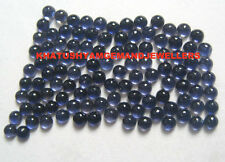 AAA Quality 25 Piece Natural Iolite 3X3 MM Round Cabochon Loose Gemstone