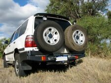 OUTBACK ACCESSORIES WHEEL CARRIER, TOYOTA LAND CRUISER 100 SERIES IFS, 4WD