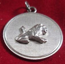 VINTAGE STERLING SILVER LEO THE LION CHARM