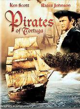 Pirates of Tortuga (DVD, 2004) Ken Scott, Dave King 1961 Release rare