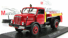 "Scale model truck 1:43 IFA S 4000-1 SW 7 ""MINOL"" 1957 Red/Yellow"