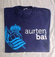 Camiseta Real Sociedad futbol Talla XL Aurten Bai Somos de Primera 2009