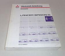 Werkstatthandbuch Mitsubishi Lancer Wagon C6A / C7A 2WD / 4WD Modelljahr 1989