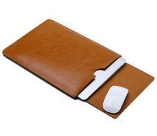 For Dell XPS 13 15 Laptop Case Leather Sleeve Pouch Bag Cover