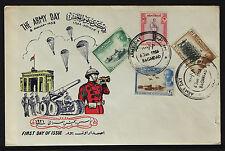 Iraq Irak 1958, Army Day, King Faisal II, FDC 204