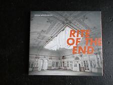 CD DIGIPACK STEFAN WESOLOWSKI - RITE OF THE END / comme neuf