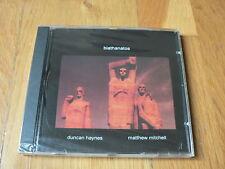 Ducan Haynes & Matthew Mitchell : Biathanatos - CD Leo Records NEUF SEALED