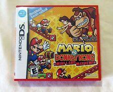 Mario vs. Donkey Kong Mini-Land Mayhem Nintendo DS Complete