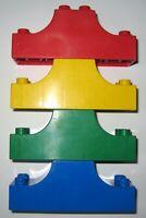 Red Rouge LEGO DUPLO 3437 x2 Brique Brick 2x2