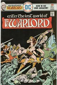 DC Comics Enter The Lost World of The Warlord Issue #1 First Issue! VFNM