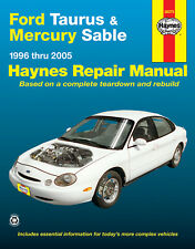 Haynes 36075 Repair Manual Ford Taurus & Mercury Sable 1996 thru 2005