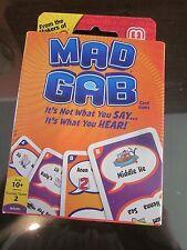 MAD GAB CARD GAME BRAND NEW
