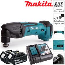 Makita DTM50Z 18 V LXT Oscilante Multiherramienta Con 2 X 4.0Ah Pilas Y Cargador