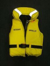 WATERSNAKE APOLLO Adulto Grande Giubbotto di salvataggio giallo Attrezzatura Da Pesca 80N