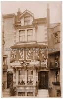 BRIGHTON RP - Victoria House 44 GRAND PARADE with Flags Untitled Sussex Postcard