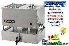 Durastill 46C-12 Gallone \ giorno Auto Acqua Distillatore con 4 Gallon riserva 240V