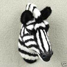 Lifelike Zebra Furlike Magnet. (Handcrafted & Hand painted.Collectable) Gift?