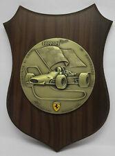 F1 FERRARI PARADE RACETRACK AUTODROMO DI MONZA 1987 BIG Bronze Medal on Stand