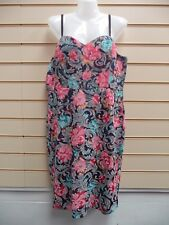 DRESS FLORAL SIZE 14 MULTI PRINT JOE BROWNS STRAPPY  BNWT (G010)