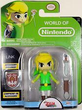 World of Nintendo ~ LINK (WIND WAKER) Action Figure ~ Legend of Zelda