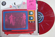 DEVO LP Miracle Witness Live in Ohio 1977 Official 2015 RED SPLATTER 180g Vinyl