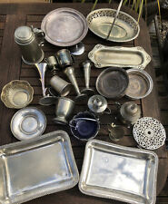 House Clearance Silver Plate & Misc Metalware Joblot