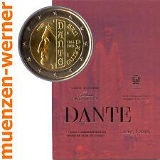 Sondermünzen San Marino: 2 Euro Münze 2015 Dante Sondermünze Gedenkmünze