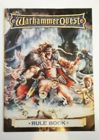 WARHAMMER QUEST: Rule book (Games workshop)