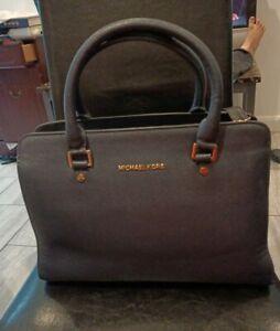 Michael Kors Large  Leather Handbag Bag Size L Wide 14ins. Height 14ins