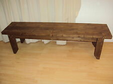 Wooden Quality Handmade Garden-kitchen-Dining-utility Bench Sturdy And Solid 6FT