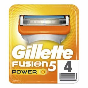 Gillette Fusion5 Power for Men - Pack of 4 - NEW PACK !!NEW YEARS SALE!!