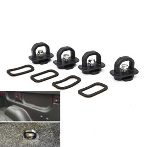 4Pcs Truck Bed Hook Tie Down Cargo Anchor Ring Accessories for GMC Chevy Pickup