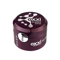 OXXI Professional Gel Nail Polish Rubber Base&Top, No Wipe Top,Cover Base LED UV