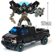 HZX h603 Movie Deformable 7in Action Figure Robot Ironhide Kids Child Gift Toy