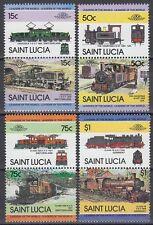 St. Lucia 1984 ** ex Mi.672/83 Eisenbahn Railway Klasse P8 [sq6267]