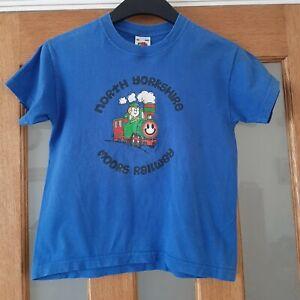 Boys North Yorkshire Moors Railway T-Shirt  Age 5-6