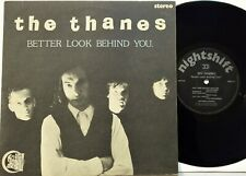 """The Thanes - Better Look Behind You 10"""" EP 1990 UK Press Nightshift Records EX+"""
