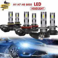 LED Kit de faros coche COB H7 110W 10000LM bombillas luz blanca H1 H4 H8 9005/6