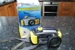 Sony Marine Pack MPK-P5 for Cybershot DSC P5 /P3 Underwater Housing 40m depth