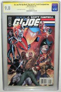 G.I. Joe Pin-Up Book: The Art Of J. Scott Campbell SIGNED SS CGC 9.8