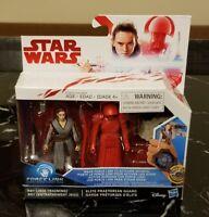 NEW Star Wars: Force Link - Rey(Jedi Training) & Elite Praetorian Guard 2 Pack