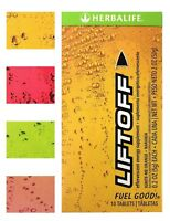 New Herbalife LIFTOFF 10 Tablets Choose Your Flavor! Free Shipping!