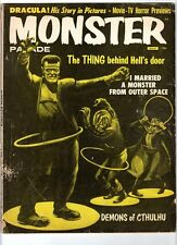 WoW! Monster Parade #4 Dracula! I Married A Monster From Outer Space! The Blob!